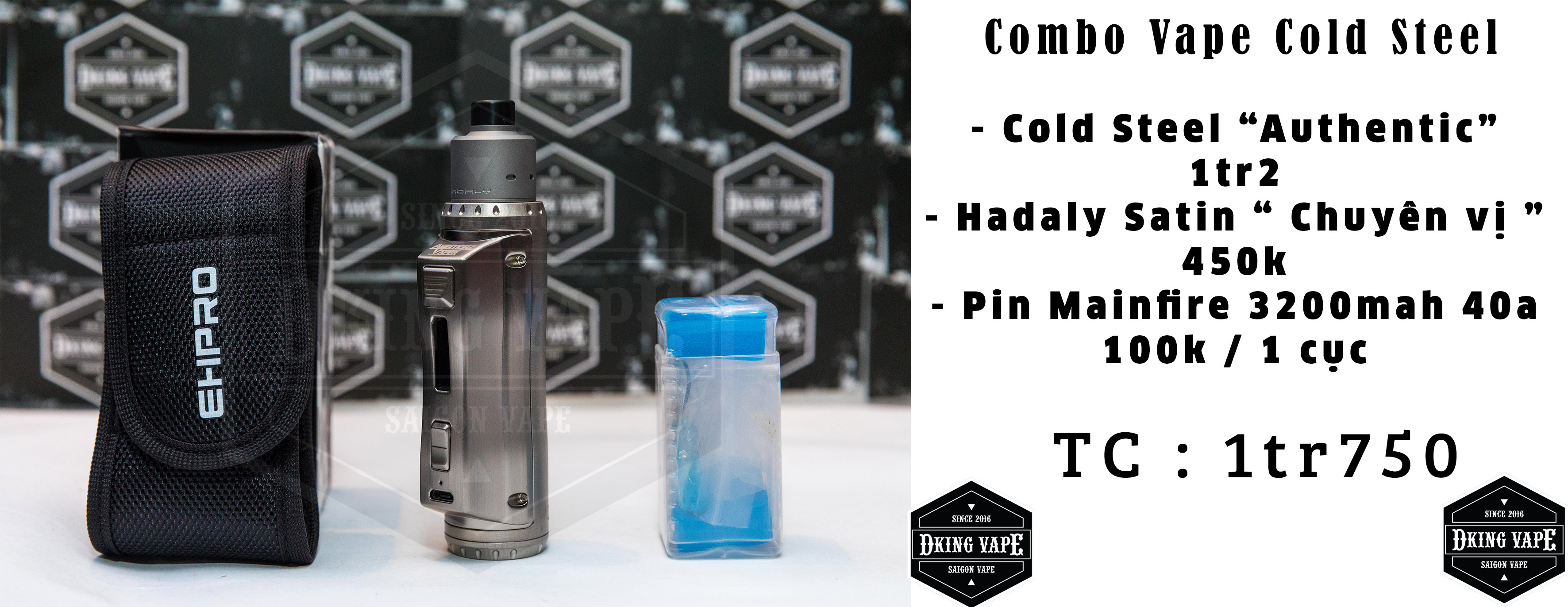 Combo Cold Steel 100w