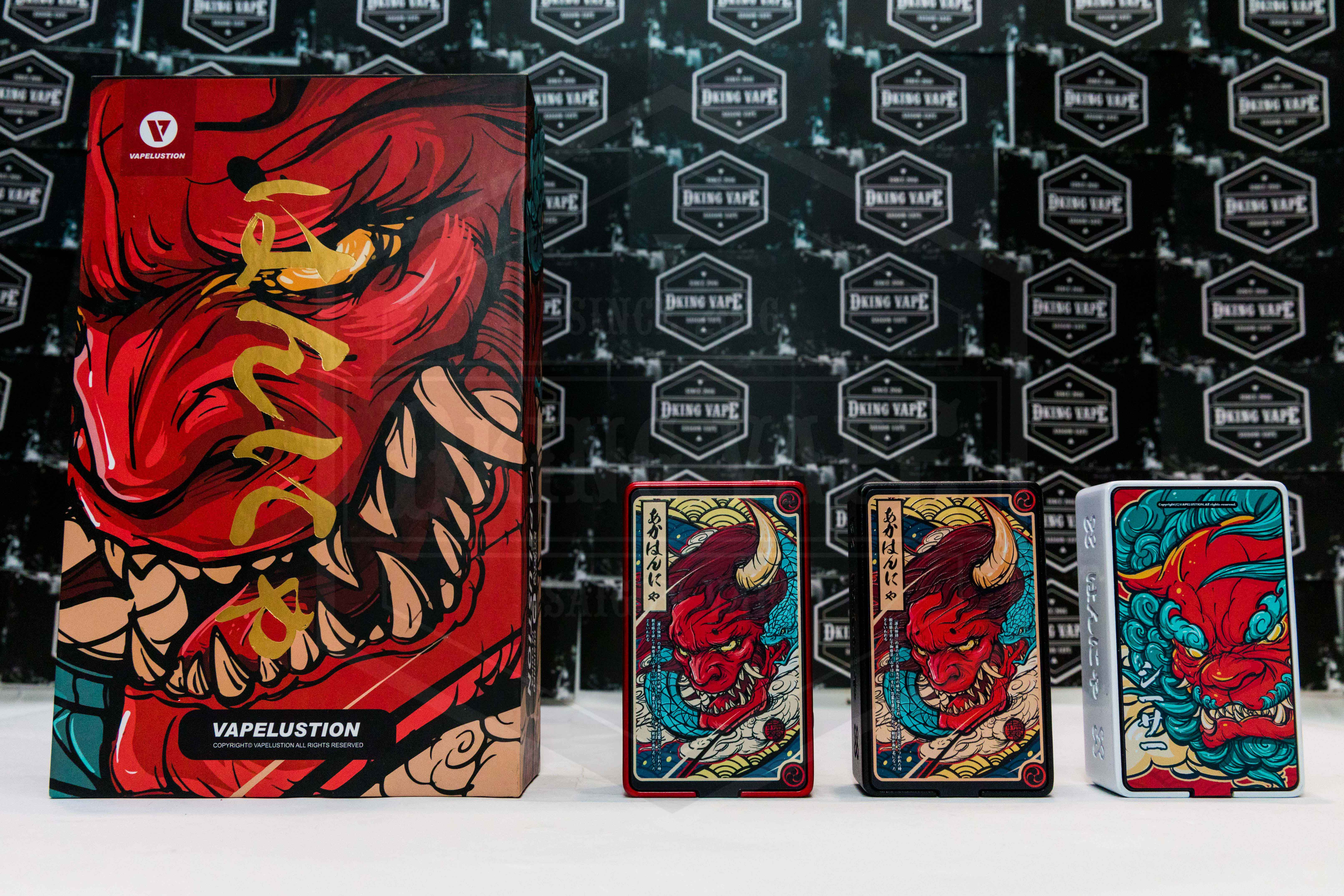 Hannya 230W Box Mod By Vapelustion