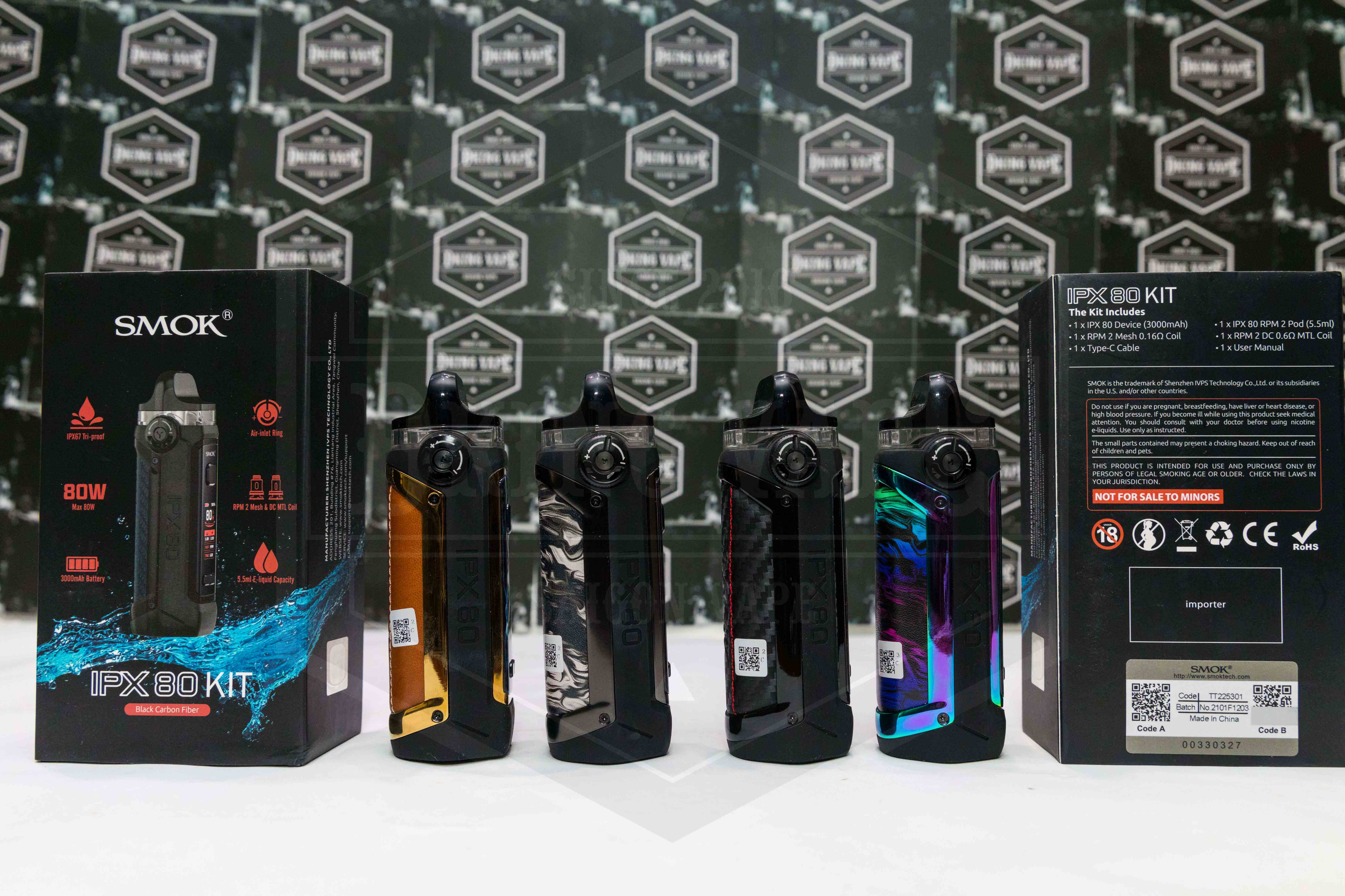 Smok IPX 80W By Smok Pod Kit
