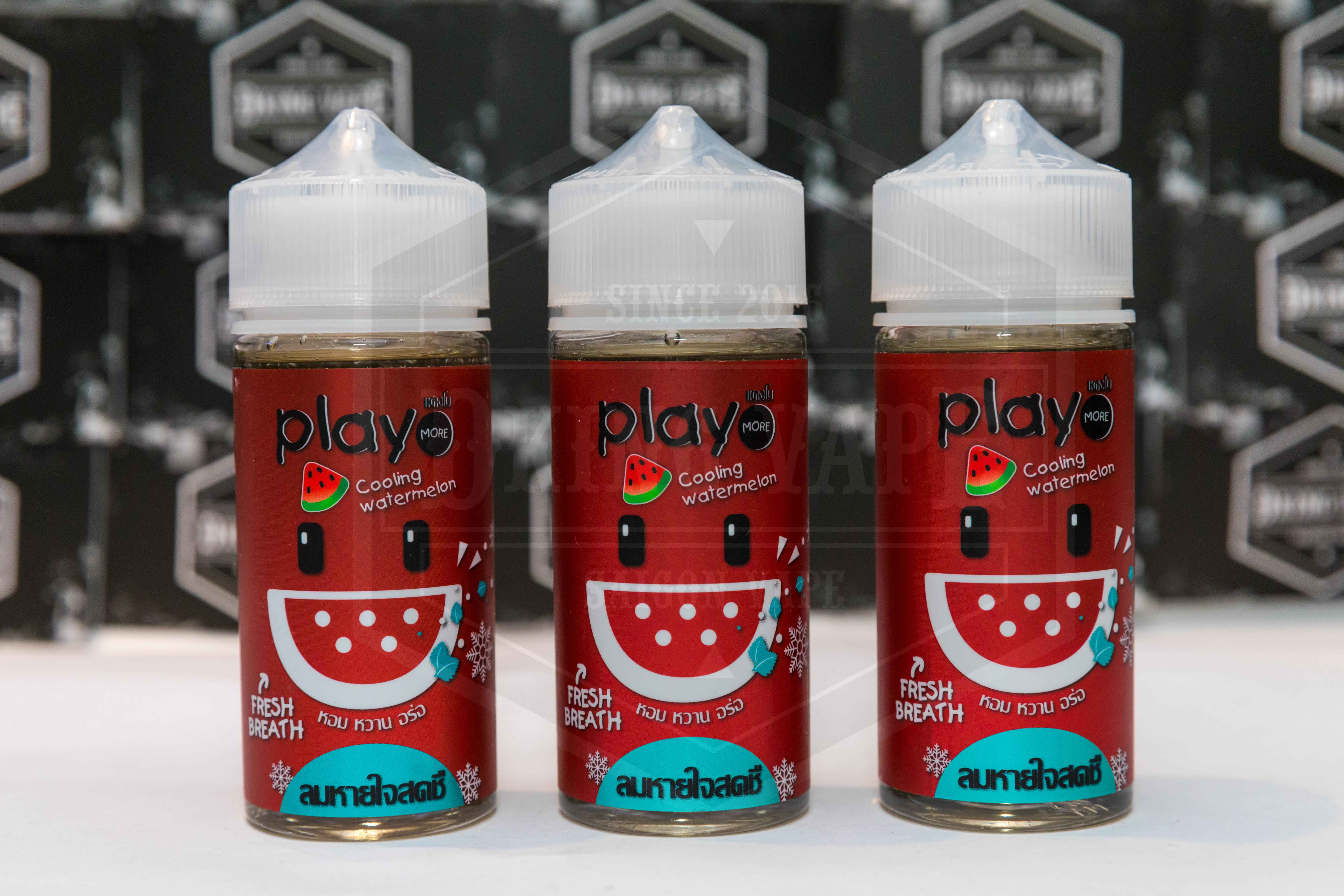 Play More Watermelon Mint