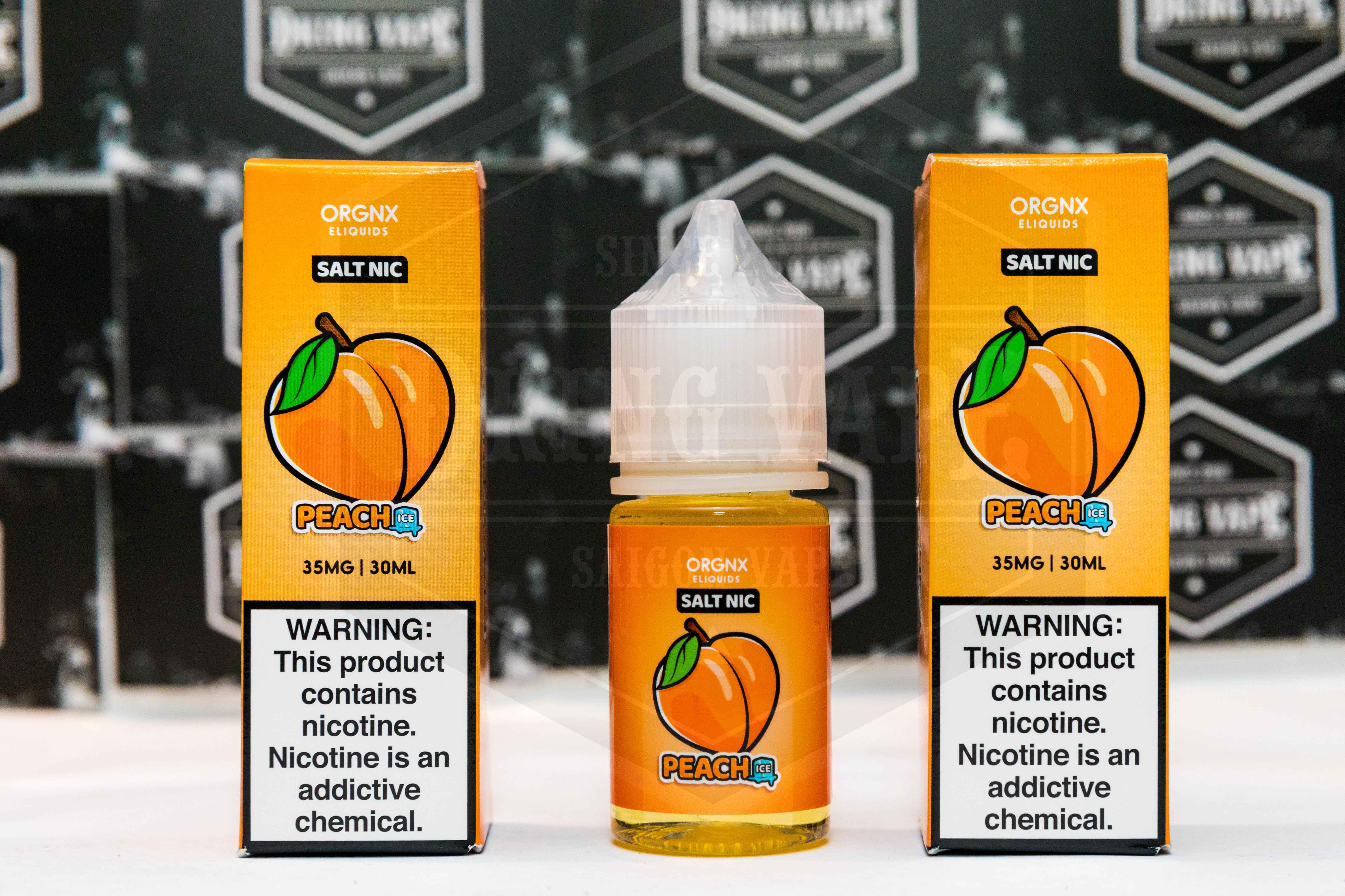 ORGNX Peach Ice